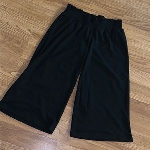 Girls cropped casual pants